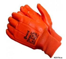 """Перчатки оранжевые """"Нефтяник"""" манжет"""