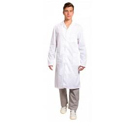 Халаты лабораторные белые