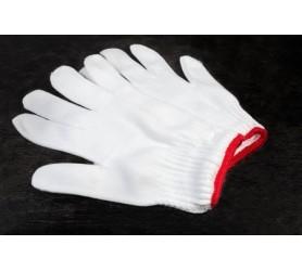 Перчатки синтетические белые