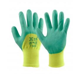 Перчатки синтетические облив каучук