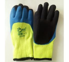 Перчатки #600 двойной облив