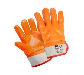"""Перчатки оранжевые """"Нефтяник"""" крага"""